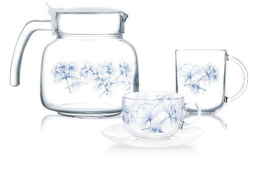 Сервиз чайно-кофейный Luminarc Altesse blue 19 предметов на 6 персон