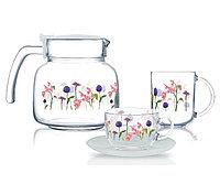 Сервиз чайно-кофейный Luminarc Rozana 19 предметов на 6 персон