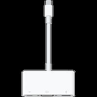 Адаптер USB Тип C, D-sub 15-pin (DB-15), USB Тип A 4-pin МАМЫ, Apple ORIGINAL USB-C VGA Multiport Adapter