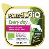 Forza10Mr.Every Bio Manzo Patate (говядина)  влажный корм для собак из говядины с картофелем 150г