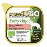 Forza10 Every Bio Salmone Piselli (лосось) влажный корм для взрослых собак 150г