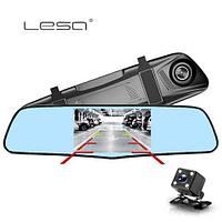 Видеорегистратор-зеркало заднего вида LESA T1 (с камерой заднего вида)