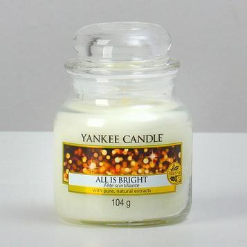 Свеча ароматическая «Yankee Candle», светло и ярко/all is bright, 104 г