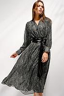 Женское осеннее шифоновое платье Saffonov S6014 42р.