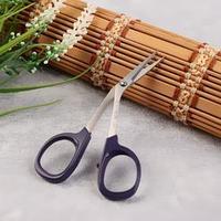 Ножницы для вышивания, 10 см, изогнутые, цвет фиолетовый