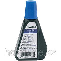 Штемпельная краска Trodat, 28мл, синяя
