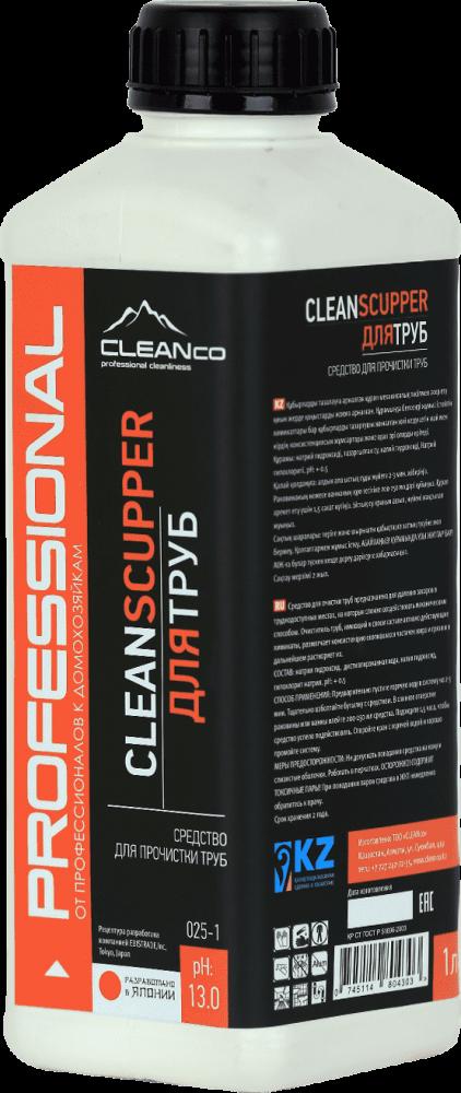 Средство для прочистки труб CLEANSCUPPER (1 литр)