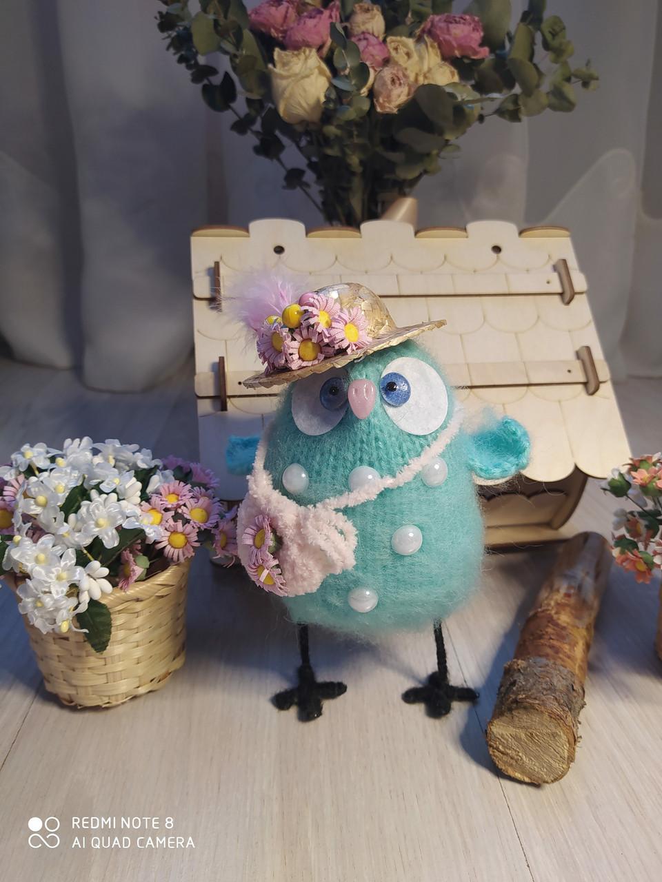Интерьерная игрушка Подружка Совушка - фото 1