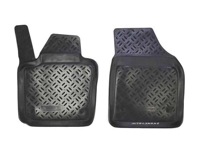 Коврики в салон Volkswagen Caddy III (2004-2015) передние, 2шт.