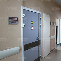 Дверь рентгенозащитная ДРЗ-2-21-12-1,0 ТИССА