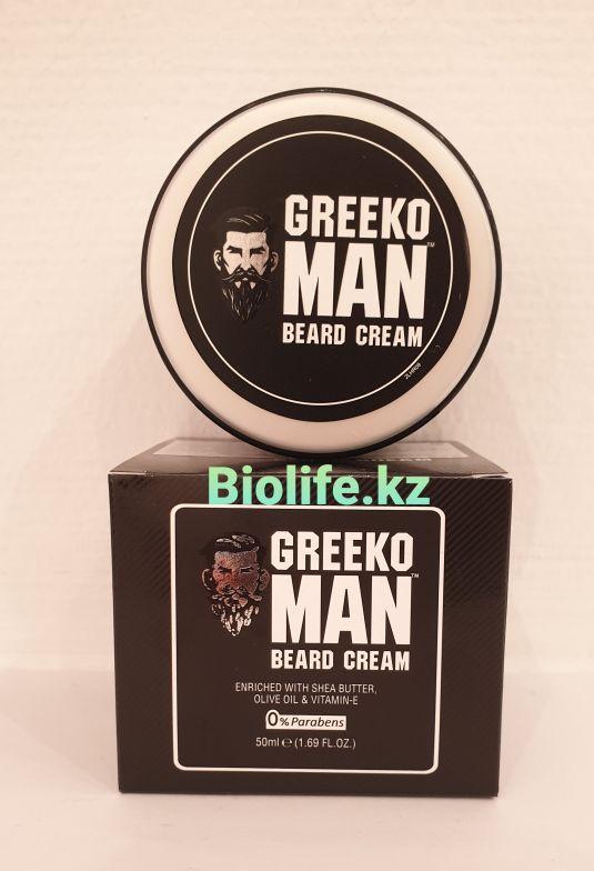 "Крем для роста и укладки бороды ""Greeko Man"" 50ml. - фото 1"