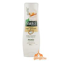 Кондиционер для ломких и выпадающих волос с Чесноком Ватика (Garlic Vatika DABUR), 200 мл