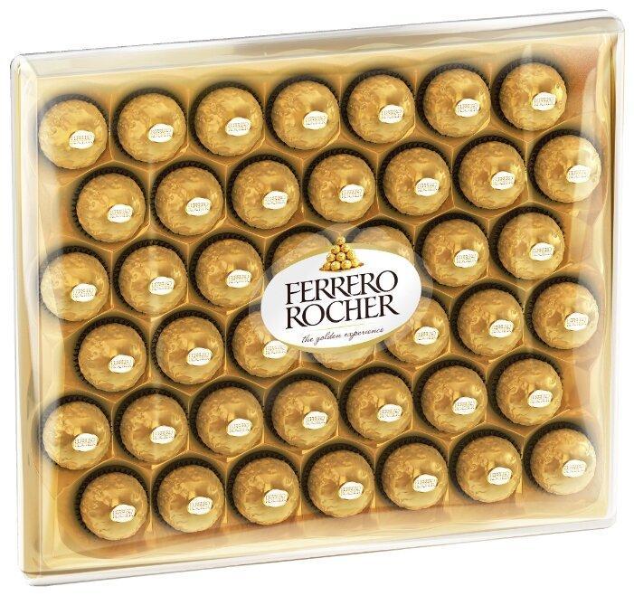 Набор конфет Ferrero Rocher с орехом /большая коробка/ 525гр
