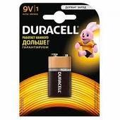 Батарейка DURACELL 9V 1шт (Крона)