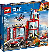 LEGO 60215 City Fire Пожарное депо, фото 1