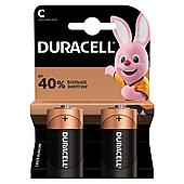 Батарейка DURACELL Basic С 2шт LR14