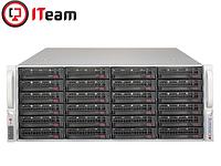 Сервер (СХД) Supermicro 4U/2xSilver 4208 2,1GHz/32Gb/No HDD/2x1280W, фото 1