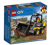 LEGO 60219 City Great Vehicles Строительный погрузчик, фото 1