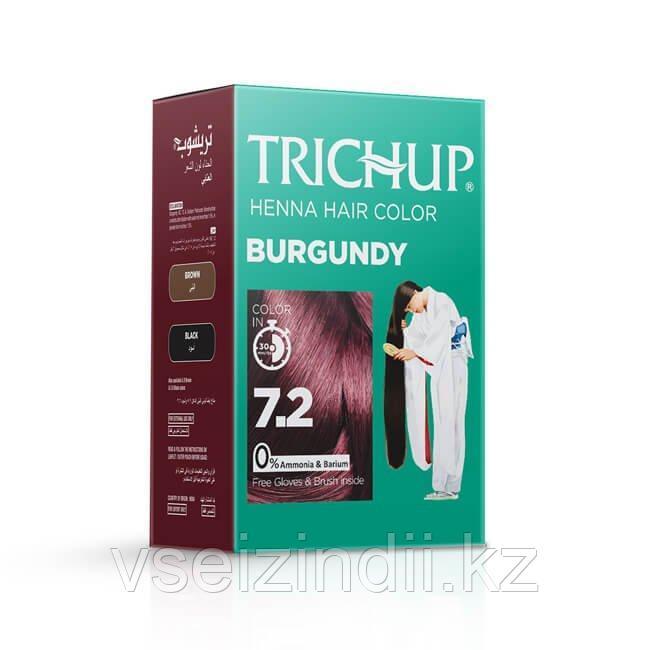 Тричуп краска для волос на основе хны  7.2, Burgundy