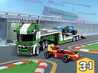 LEGO Creator 31113 Транспортировщик гоночных автомобилей, конструктор ЛЕГО