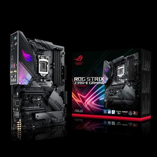Сист. плата Asus ROG STRIX Z390-E GAMING, Z390, S1151, 4xDIMM DDR4, 3xPCI-E x16, 3xPCI-E x1, 2xM.2, 6xSATA,