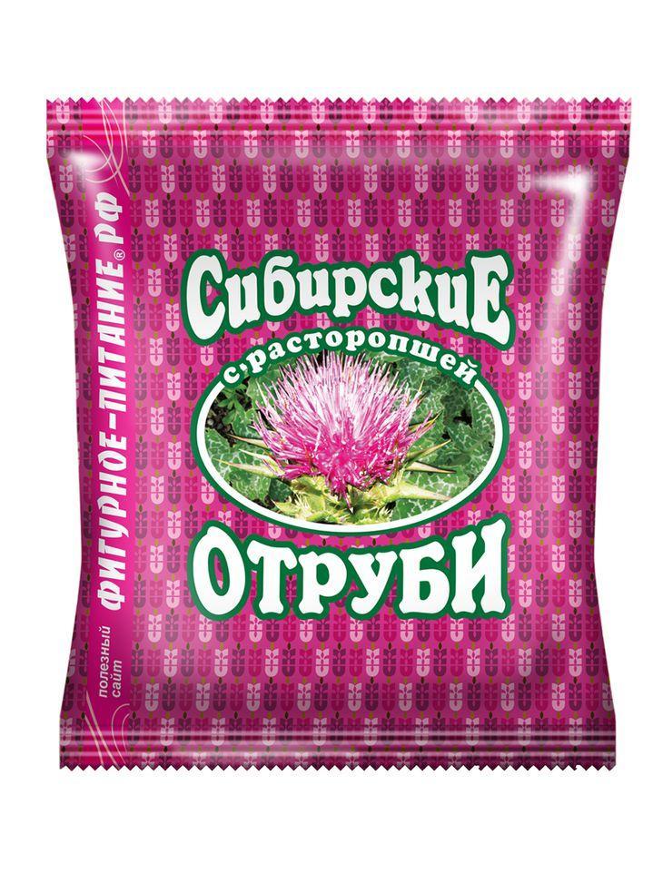 Сибирские отруби с расторопшей, 200гр