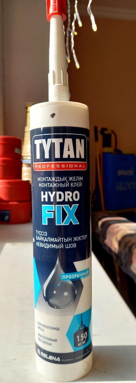 Клей монтажный HYDRO FIX безцветный 310 мл/ TYTAN