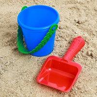 Набор для игры в песке 32 ведёрко, лопатка, МИКС