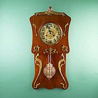 Редкие часы в стиле Ар Нуво. Часовая мастерская Junghans Германия. 1920-1930 годы.