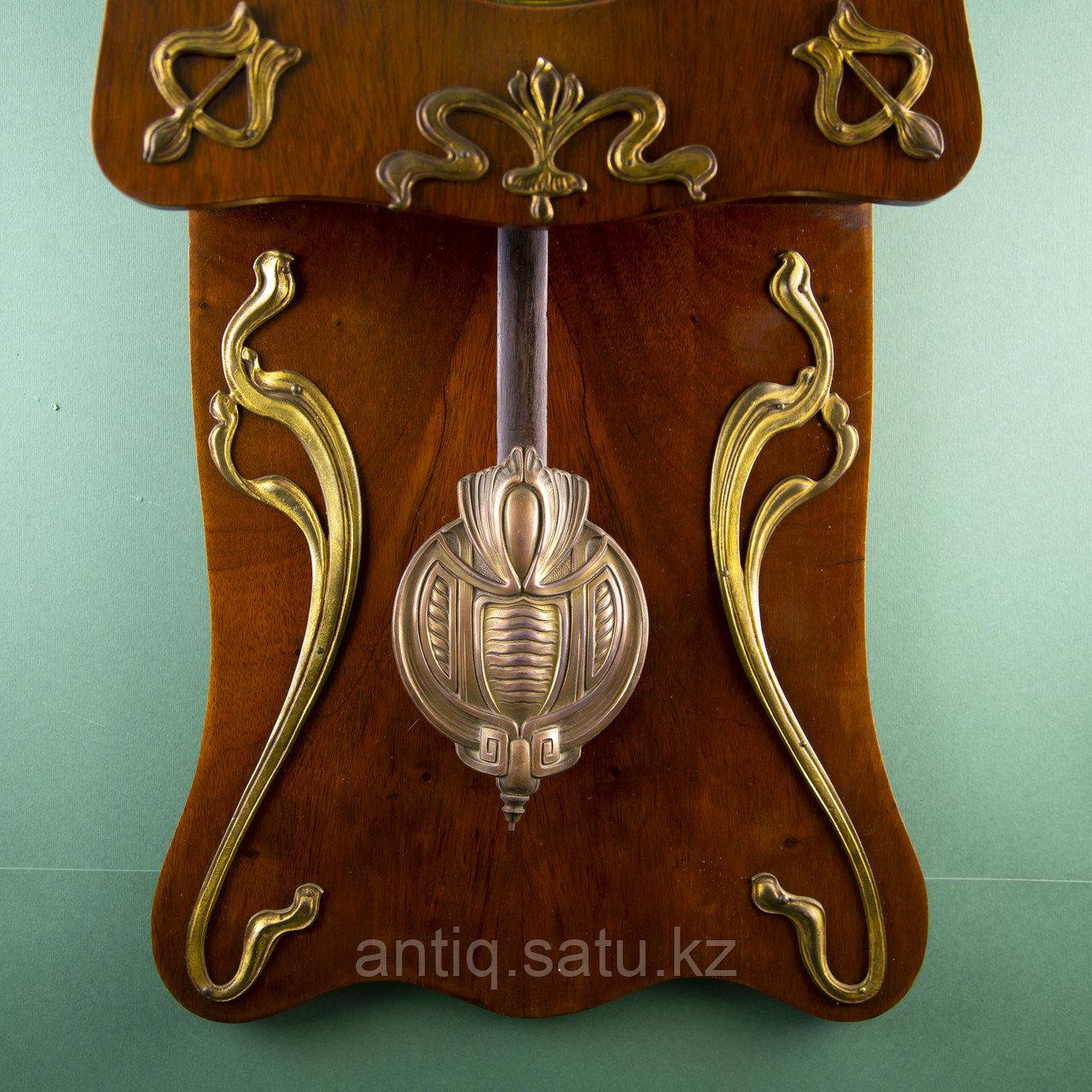 Редкие часы в стиле Ар Нуво. Часовая мастерская Junghans Германия. 1920-1930 годы. - фото 5