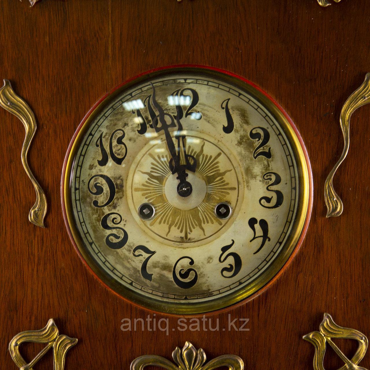 Редкие часы в стиле Ар Нуво. Часовая мастерская Junghans Германия. 1920-1930 годы. - фото 7