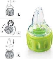 Соска-поильник для бутылок Happy Baby Silicone Spout For Bottles( силиконовая), фото 4
