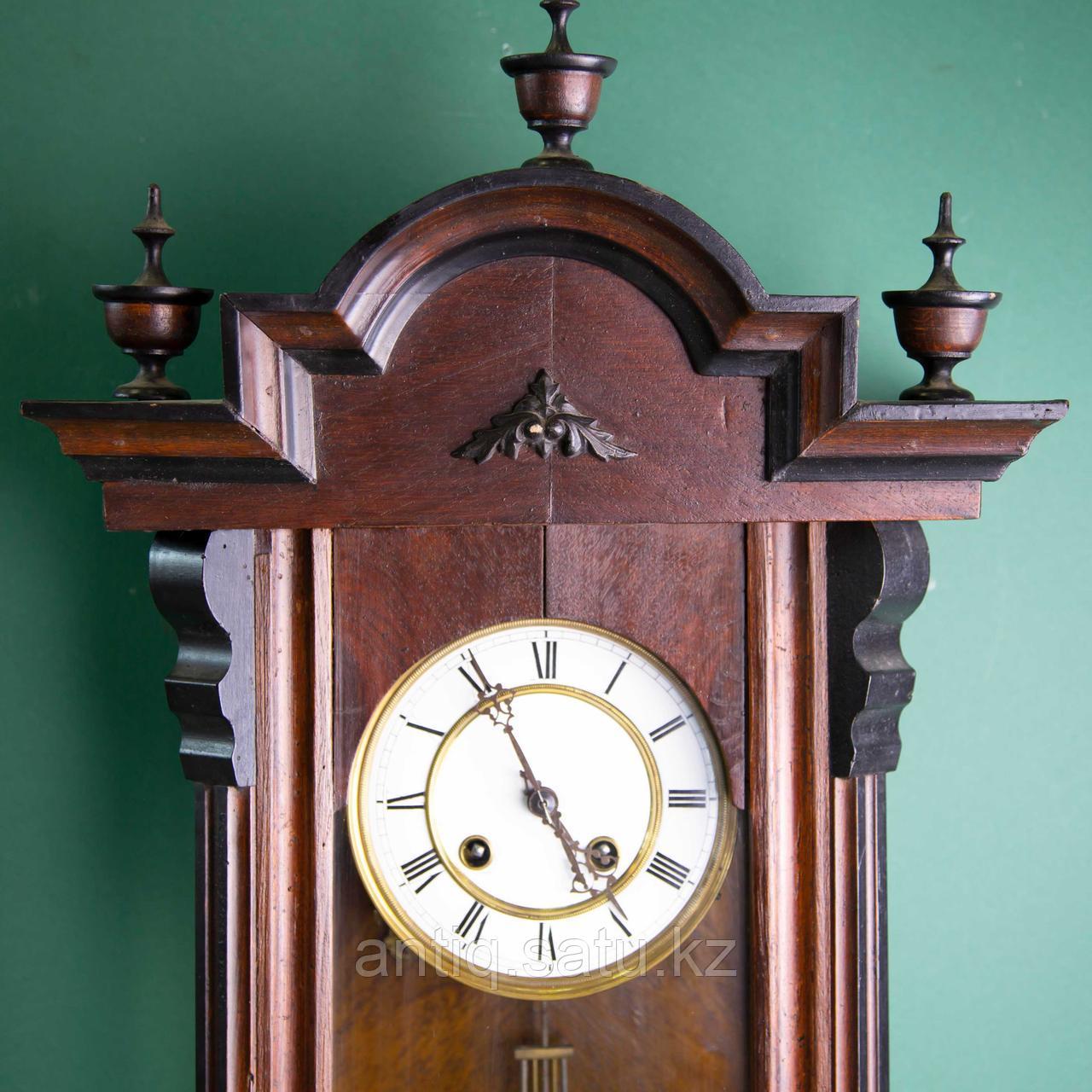Часы настенные элегантной формы. Западная Европа, 19-й век. - фото 2