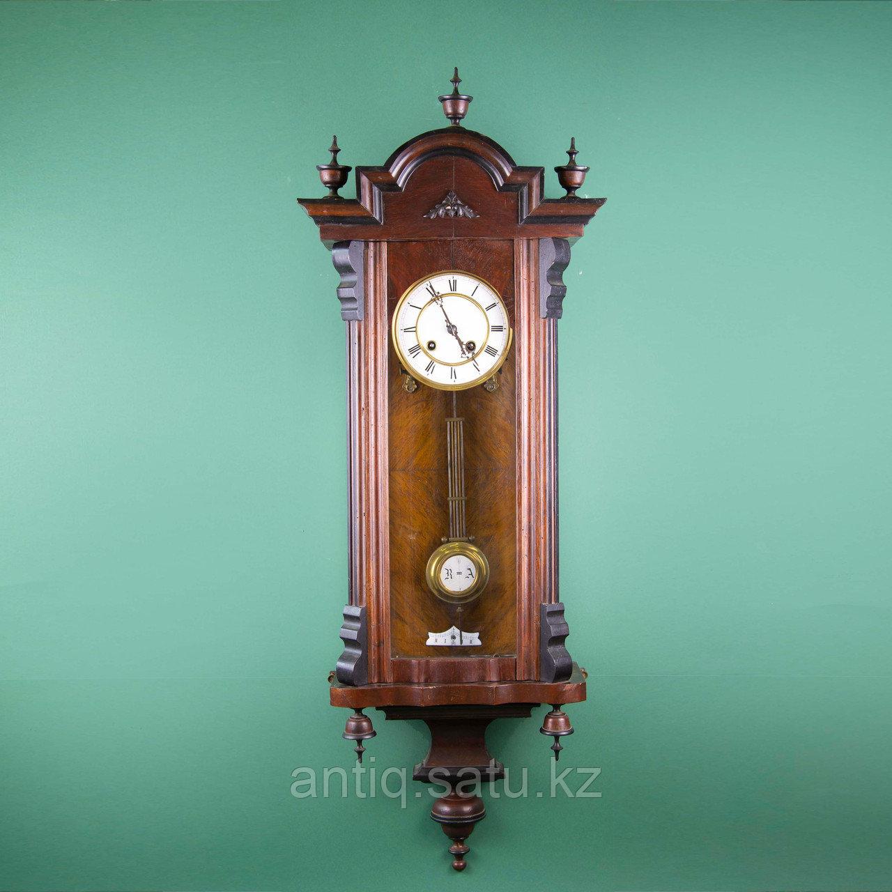 Часы настенные элегантной формы. Западная Европа, 19-й век. - фото 4