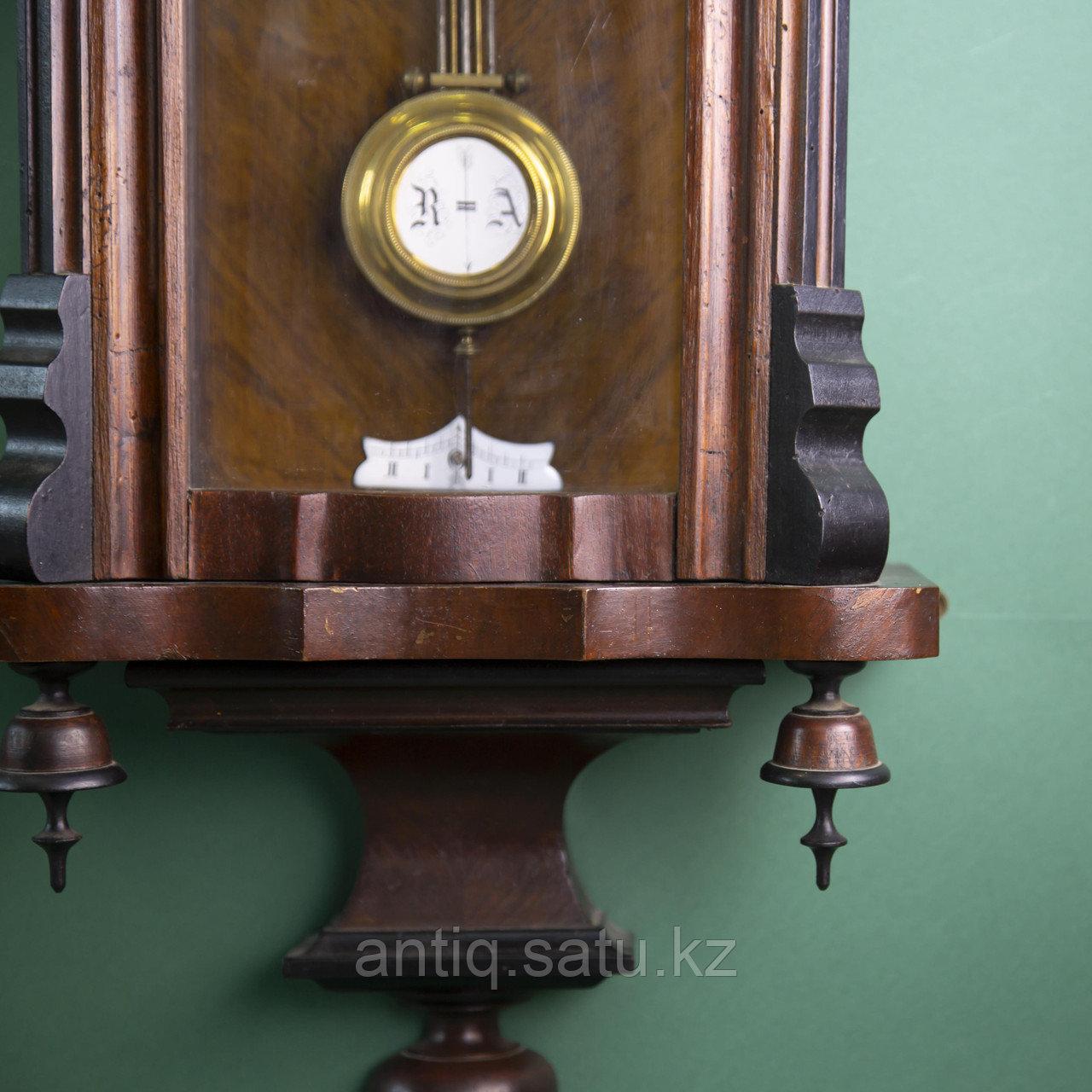 Часы настенные элегантной формы. Западная Европа, 19-й век. - фото 5