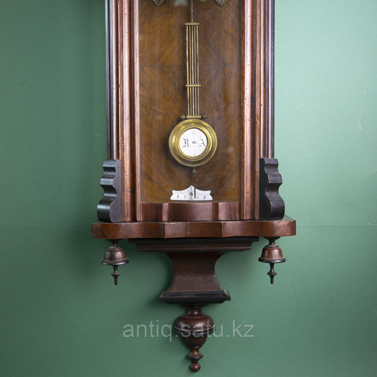 Часы настенные элегантной формы. Западная Европа, 19-й век. - фото 6