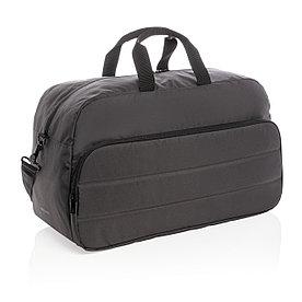 Спортивная сумка Impact из RPET AWARE™, черная
