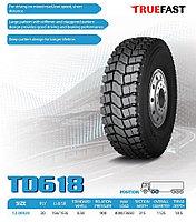 КОМПЛЕКТ автошина 12,00R20 20PR 156/153L TD618 Truefast + Диск колёсный 8,5-20
