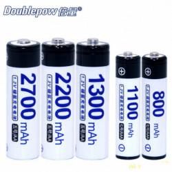 Аккумуляторы Ni-MH Doublepow AAA/AA 1100mah , 1 шт