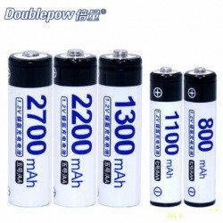 Аккумуляторы Ni-MH Doublepow AAA/AA 1100mah , 1 шт, фото 2