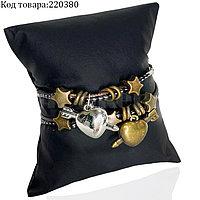 Парные браслеты для влюбленных выпуклое Сердце со стрелой символизирует союз