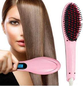 Расческа - выпрямитель Fast Hair Straightener HQT - 906