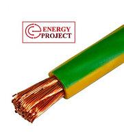 Провод ПВ1-50  0,45 кВ (ПВ2 50) желто-зеленый   ГОСТ, фото 2