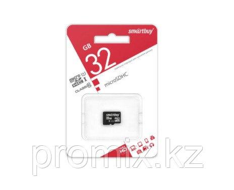 Карта памяти microSD Smartbuy 32 GB (class 10)