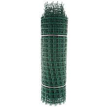 "Садовая пластиковая решетка ""Мелкая"" ПРОФИ, рулон 1х20 м, ячейка 50х50 мм"