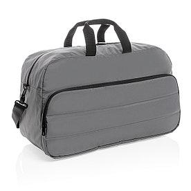Спортивная сумка Impact из RPET AWARE™, серая