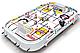 "Настольная игра Хоккей ""All-Star Ice Hockey"" 105,5х73,5х13см, фото 3"