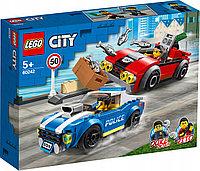 LEGO 60242 City Police Арест на шоссе, фото 1