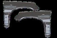 Крылья пластиковые Шевролет Нива | Chevrolet Niva (2шт.) неокрашенные