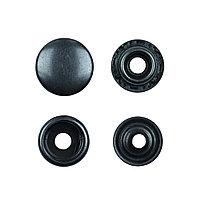 Кнопки Омега чёрный,4 шт